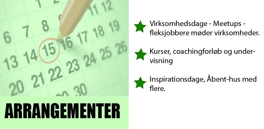 Se arrangementskalenderen her